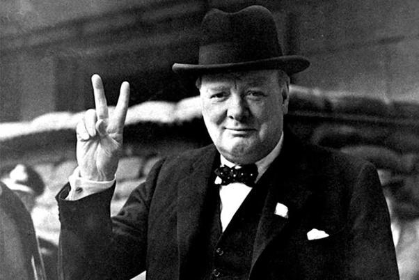 L'elezione di Churchill in Gran Bretagna