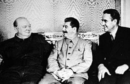 L'incontro a Mosca tra Stalin, Churchill e Averell Harriman