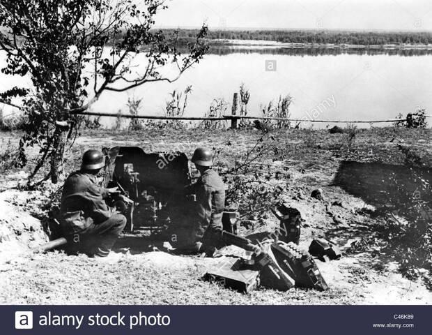 L'obiettivo dei tedeschi sul grande fiume russo il Volga.