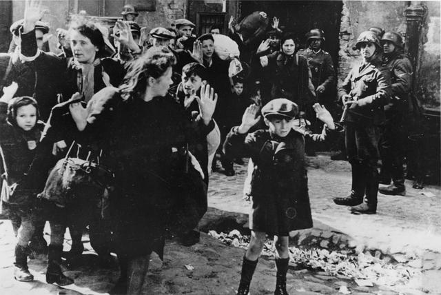 La ribellione degli ebrei a Varsavia