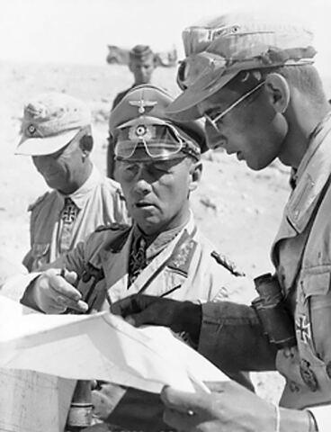 La ritirata tedesca dall'Africa