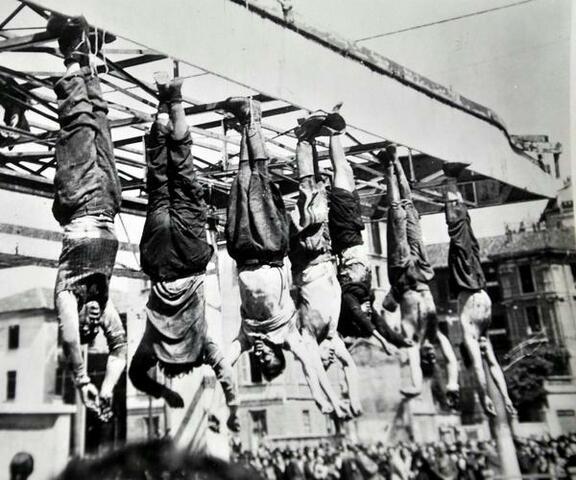 La morte di Benito Mussolini
