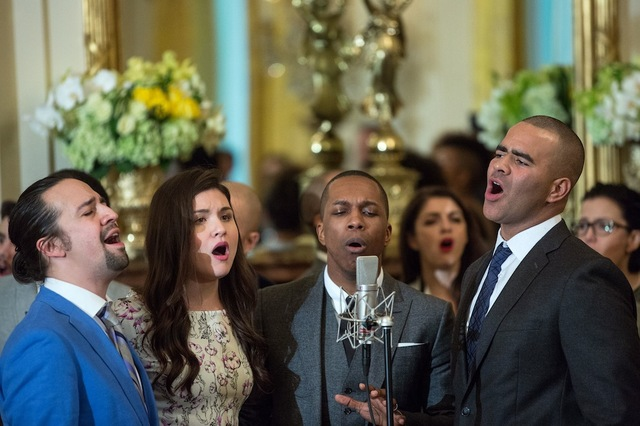 """Hamilton"" Performance at White House"