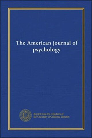 The American Journal of Psychology.