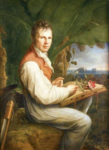 Alexander Von Humboldt Precursor de la Biogeografía