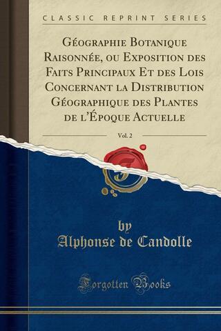 Geographie botanique raisonnée