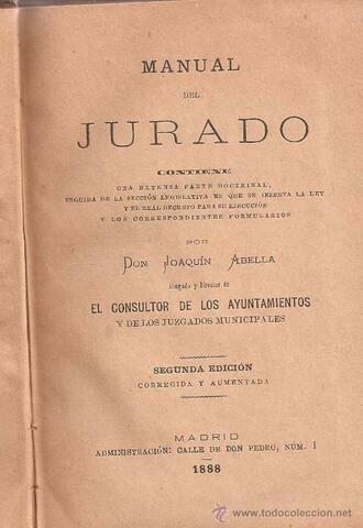 Ley de Jurados.