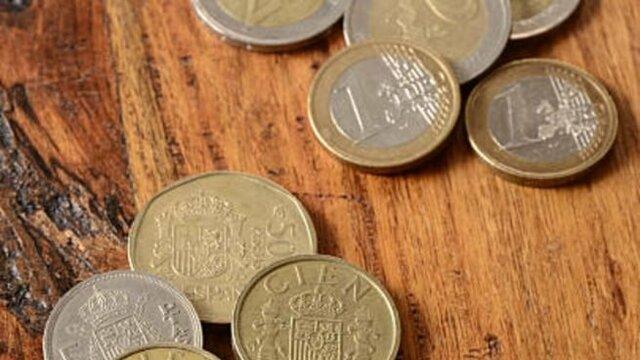 Cambio de la peseta al Euro en España