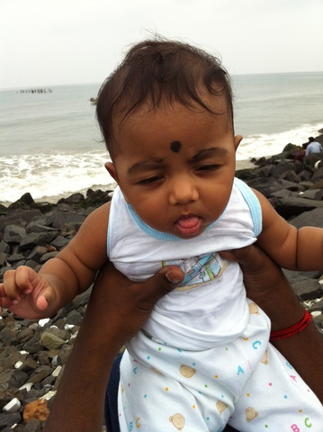 First Time at Beach