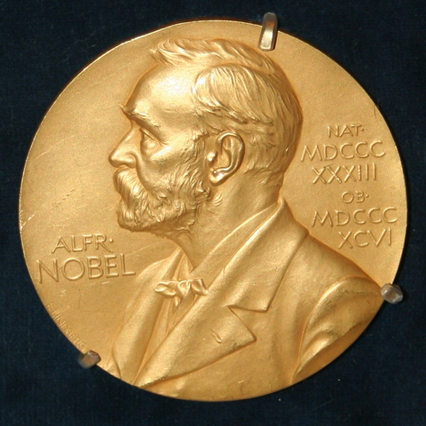 Charles Receives the Nobel Prize