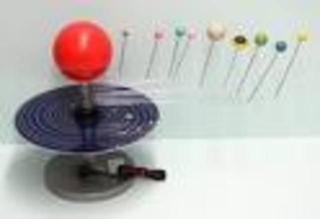 Solar system model ???