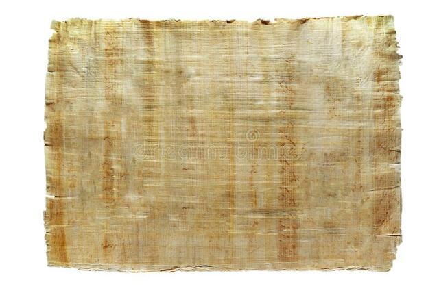 La invención del papiro