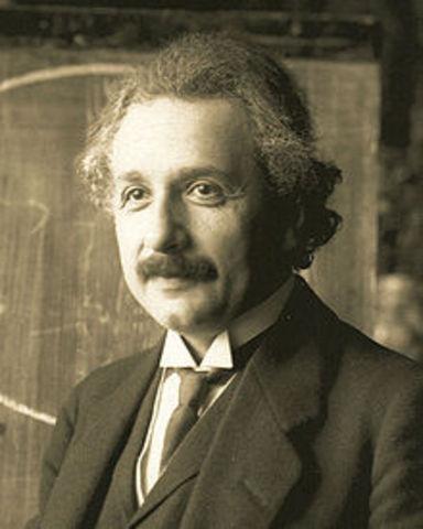 Einstein is born.
