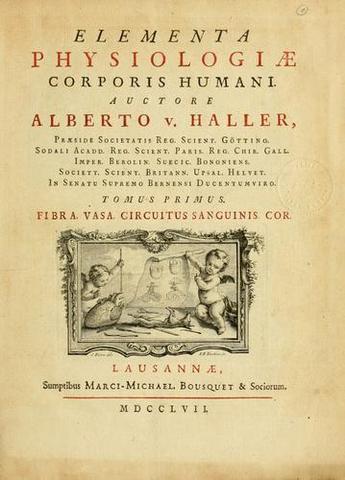 """""""Elementa physiologiae corporis humani"""""""