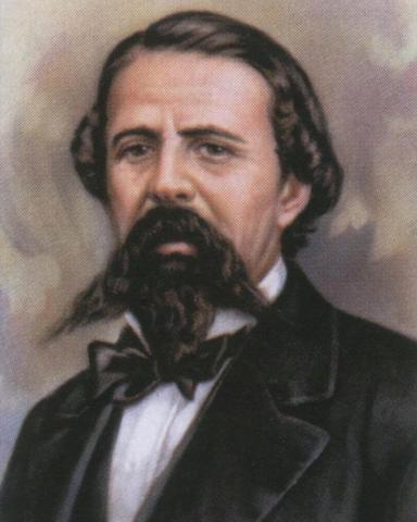Presidente interino Rómulo Díaz