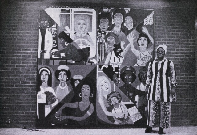 """Faith Ringgold Artwork """"For the Women's House"""" (1971) Unveiled"""