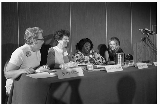 National Women's Political Caucus Founded