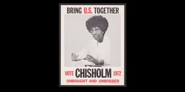 Shirley Chisholm runs for President