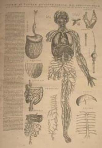 """De Humani Corporis Fabrica Epitome"" is published."