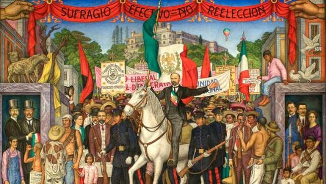 Madero encabeza Revolución Mexicana
