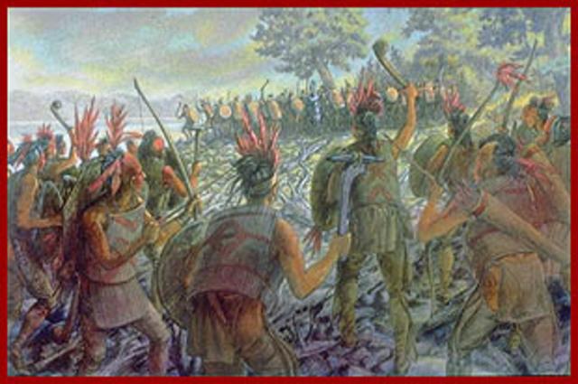 Les Iroquois, alliance avec les Anglais
