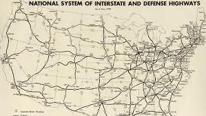 •Interstate Highway Act (1956)