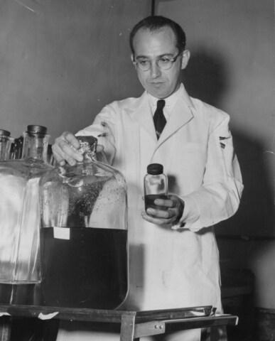 Polio Vaccine created by Jonas Salk