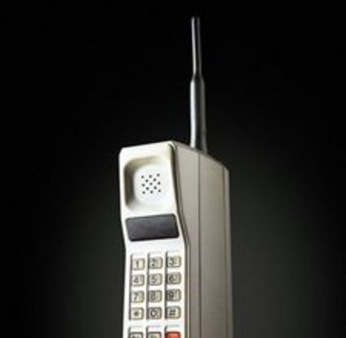 The First Cellphone