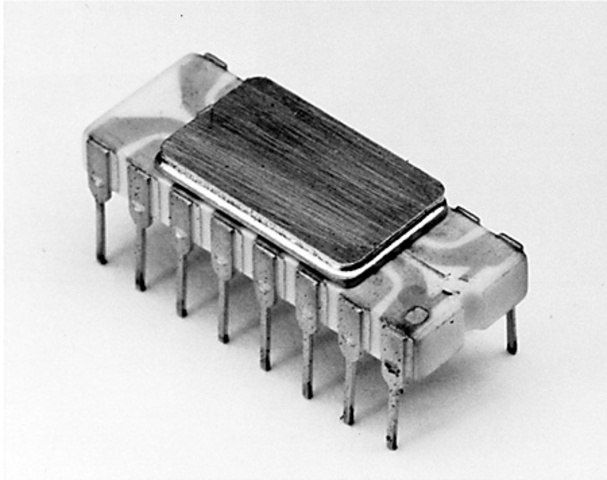 Developed first microprocessor