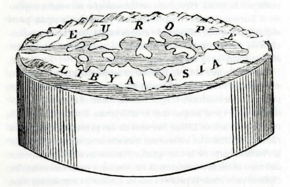 Mapa de Anaximandro de Mileto