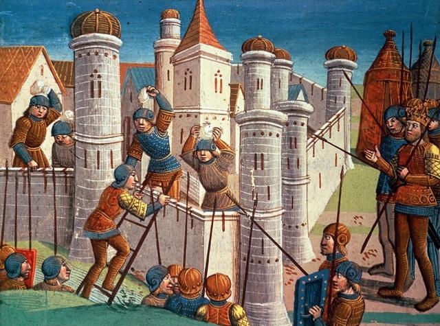 La conquesta de Constantinoble per part dels turcs, el 1453
