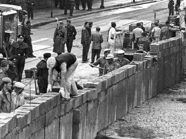 La divisione del mondo in blocchi: la costruzione del muro di Berlino
