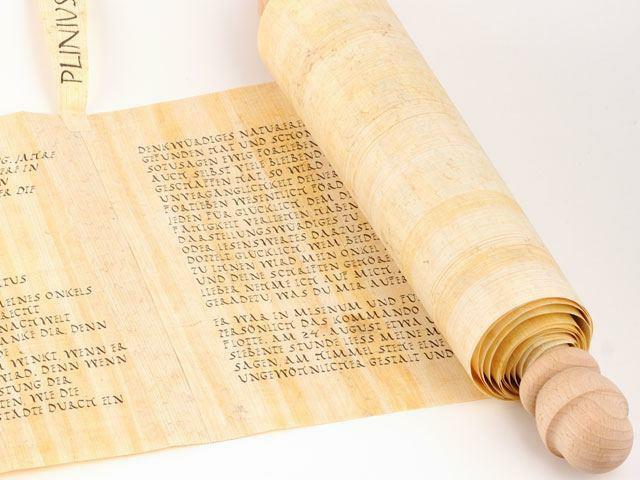 Invención del pergamino