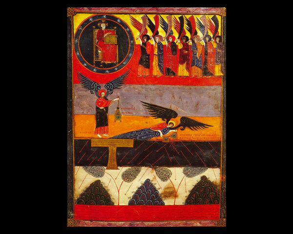 El comentario de Beato sobre el apocalipsis de San Juan el Divino