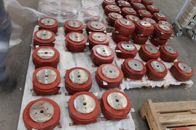Reparo dos 84 polos em fábrica - limpeza/tratamento térmico/limpeza das conexões