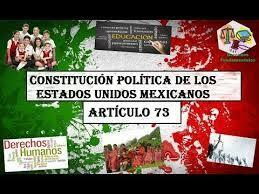 Art. 73 de la Constitución Política de los Estados Unidos Mexicanos