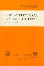 Código Electoral del Distrito Federal.