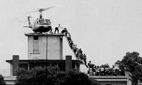 Fall of Saigon, marks the end of the Vietnam War