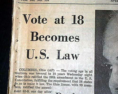 26 amendment