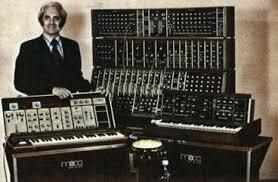 Creation of the first electric sound synthesizer