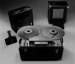 AEG Magnetophon Tape Recorder is created.