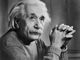 teoría de la relatividad por Albert Einstein