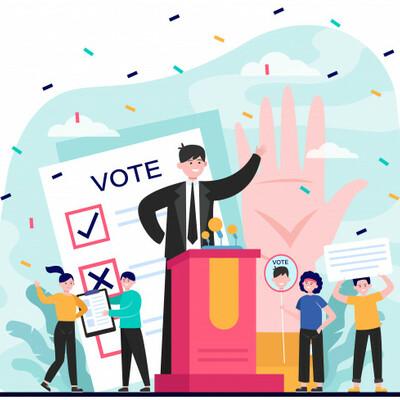 Evolución del Derecho Electoral. timeline
