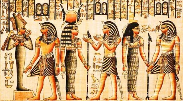 La pasión delos egipcios