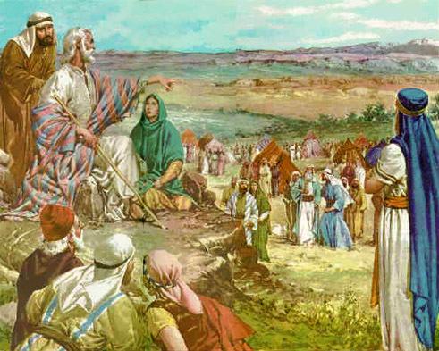 Los hebreos en el Éxodo