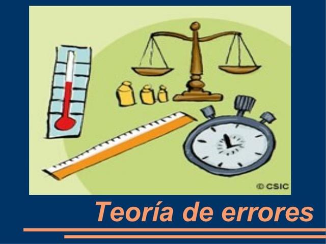 """La """"Teoría del error"""" por fin llega."""