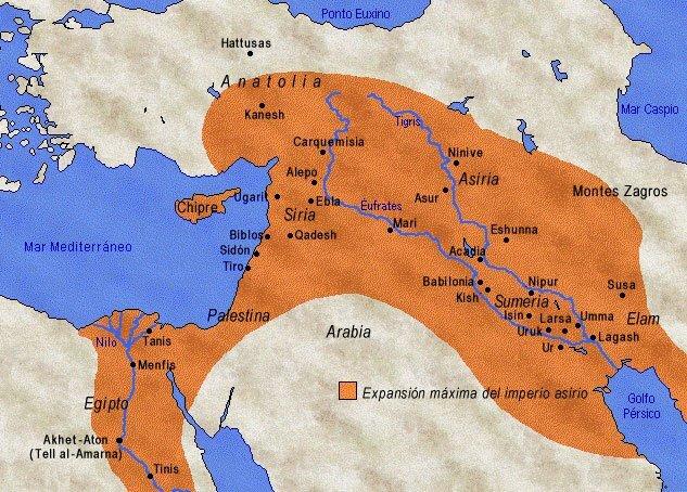 Etnias en Mesopotamia
