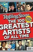 Rolling Stone magazine ranked The Beatles #1 on its list of 100 Greates Artists of All Time