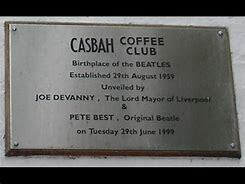 The reunited group played their first engagement at the Casbah Club.