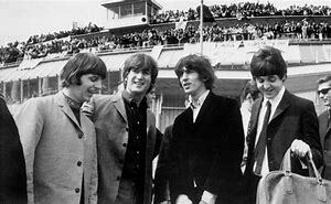 Beatlemania crossed the Atlantic, when a crowd of four thousand fans at Heathow Airport waved to The Beatles as they took off for their first trip to the United States as a group.